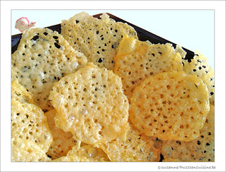 Chips dentelles ou Tuiles au Fromage